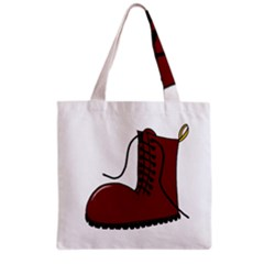 Boot Grocery Tote Bag by Valentinaart