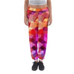 Geometric Fall Pattern Women s Jogger Sweatpants by DanaeStudio