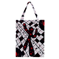 On The Dance Floor  Classic Tote Bag by Valentinaart