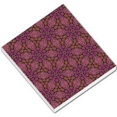 Fuchsia Abstract Shell Pattern Small Memo Pads by TanyaDraws