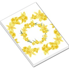 Daffodils Illustration  Large Memo Pads