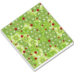 Green Christmas Decor Small Memo Pads by Valentinaart
