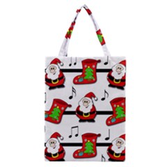 Christmas Song Classic Tote Bag by Valentinaart