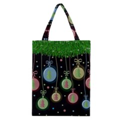 Christmas Balls   Pastel Classic Tote Bag by Valentinaart