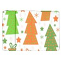 Christmas design - green and orange Samsung Galaxy Tab 8.9  P7300 Flip Case View1