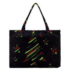 Abstract Christmas Tree Medium Tote Bag