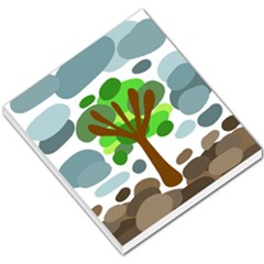 Tree Small Memo Pads by Valentinaart