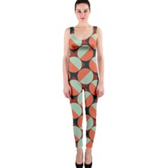 Modernist Geometric Tiles OnePiece Catsuit