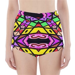 Monkey Best One Mirroir (5)hyh High Waisted Bikini Bottoms by MRTACPANS