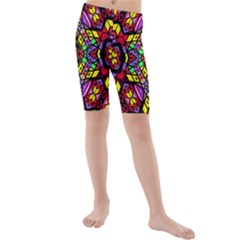 Bigger Modelg Kid s Mid Length Swim Shorts