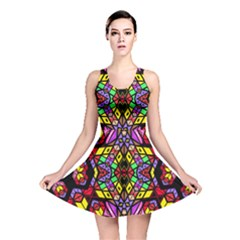 Bigger Modelg Reversible Skater Dress