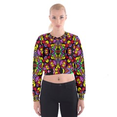 Bigger Modelg Women s Cropped Sweatshirt