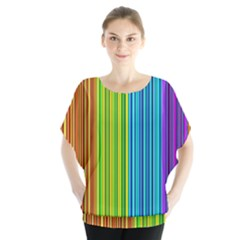 Colorful Lines Blouse
