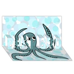 Octopus Best Bro 3d Greeting Card (8x4)
