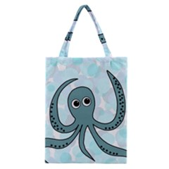 Octopus Classic Tote Bag by Valentinaart
