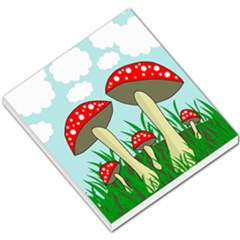 Mushrooms  Small Memo Pads by Valentinaart