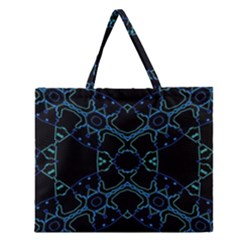 Hum Ding Zipper Large Tote Bag by MRTACPANS