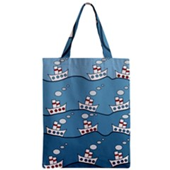 Boats Classic Tote Bag by Valentinaart