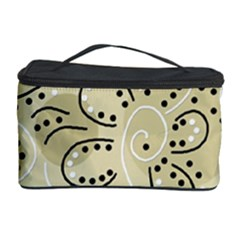 Floral Decor  Cosmetic Storage Case by Valentinaart