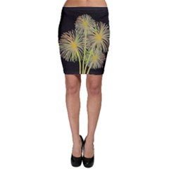 Dandelions Bodycon Skirt by Valentinaart