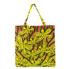 Bees Grocery Tote Bag by Valentinaart