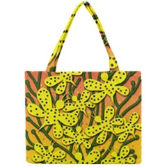 Bees Mini Tote Bag by Valentinaart