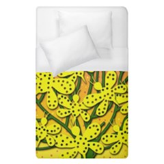 Bees Duvet Cover Single Side (single Size) by Valentinaart