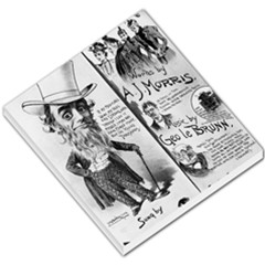 Vintage Song Sheet Lyrics Black White Typography Small Memo Pads by yoursparklingshop