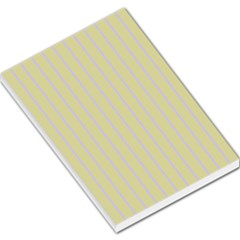 Summer Sand Color Lilac Stripes Large Memo Pads by picsaspassion