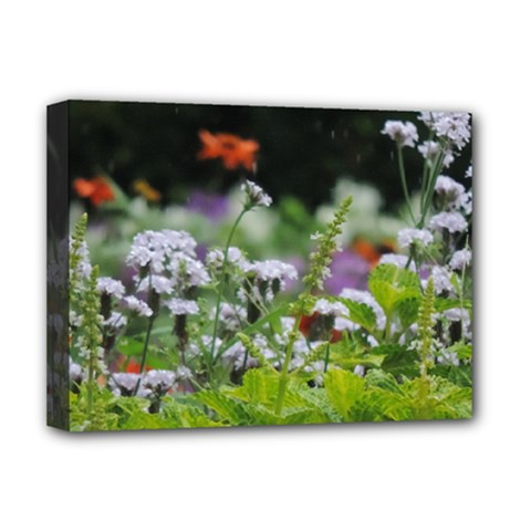 Wild Flowers Deluxe Canvas 16  X 12   by picsaspassion