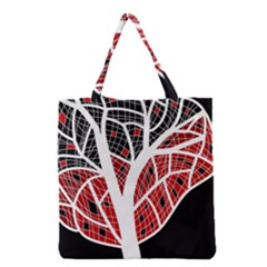 Decorative Tree 3 Grocery Tote Bag by Valentinaart