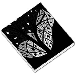 Black And White Tree Small Memo Pads