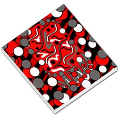 Red Mess Small Memo Pads by Valentinaart
