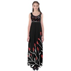 Elegant Tree 2 Empire Waist Maxi Dress by Valentinaart