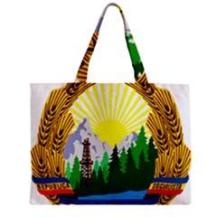 National Emblem Of Romania, 1965 1989  Zipper Mini Tote Bag by abbeyz71