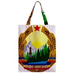 National Emblem Of Romania, 1965 1989  Zipper Classic Tote Bag by abbeyz71
