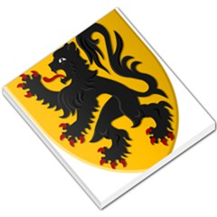 Flanders Coat Of Arms  Small Memo Pads