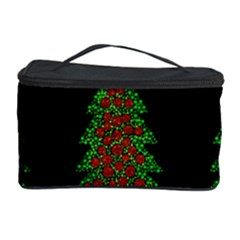Christmas Trees Pattern Cosmetic Storage Case