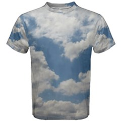 Breezy Clouds In The Sky Men s Cotton Tee