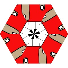 Piano  Mini Folding Umbrellas by Valentinaart