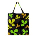 Floral design Grocery Tote Bag View1