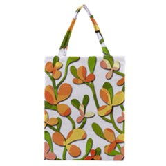 Decorative Floral Tree Classic Tote Bag by Valentinaart