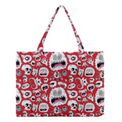 Another Monster Pattern Medium Tote Bag