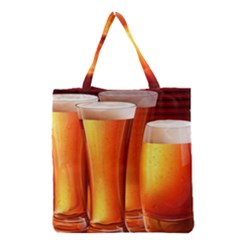 Beer Wallpaper Wide Grocery Tote Bag