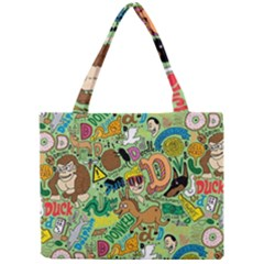 D Pattern Mini Tote Bag by AnjaniArt