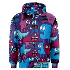 Deep Wow Purple Cartoons Men s Zipper Hoodie