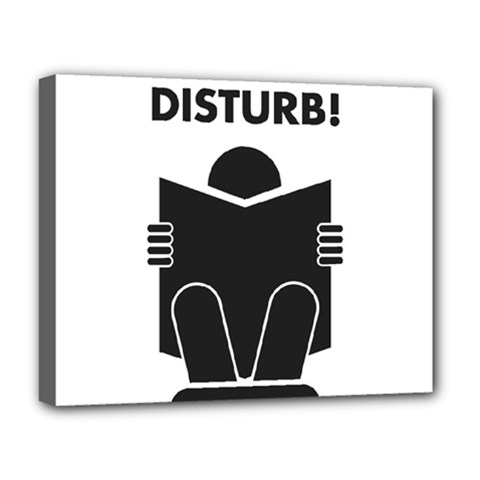 Do Not Disturb Sign Board Deluxe Canvas 20  X 16