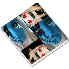 Holliwood Face Painting Small Memo Pads by AnjaniArt