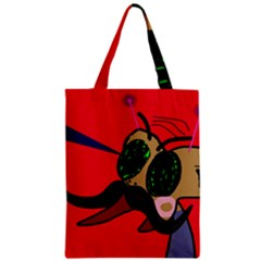 Mr Fly Classic Tote Bag by Valentinaart