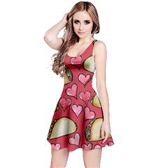 Taco Tuesday Lover Tacos Reversible Sleeveless Dress by BubbSnugg